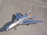 F-100 Super Sabre Combo - 1/10 Scale Turbine Kit Metal Livery