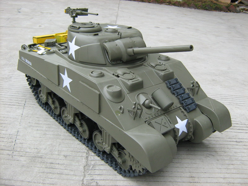 1/6 Scale M4 Sherman RC Tank(Gas Powered)