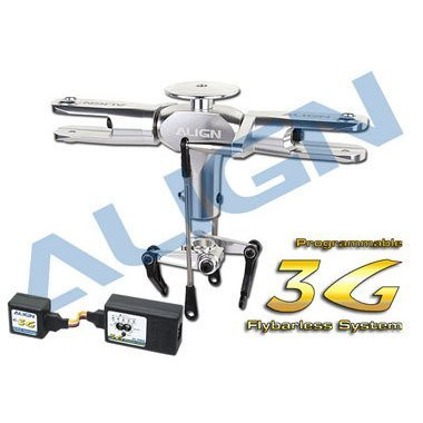 600 FL-760 3GProgrammable Flybarless System/Silver