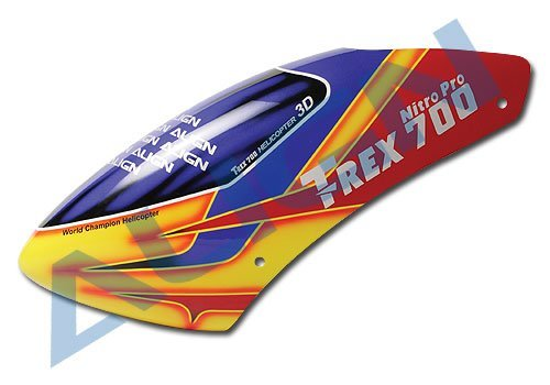 New! Align T-Rex 700N Painted Canopy HC7017 New in Box