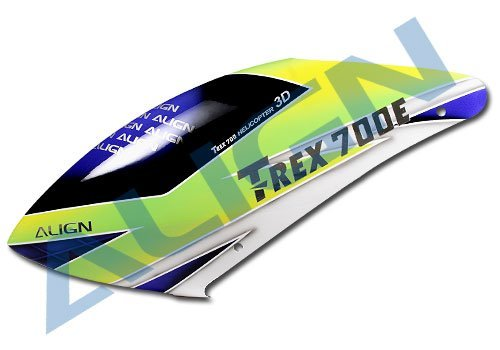 New! Align T-Rex 700E Painted Canopy HC7508 New in Box