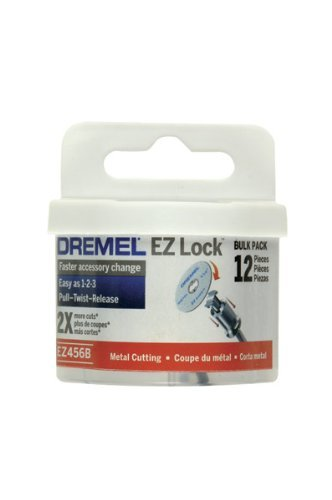 2 each: Dremel Metal Cutoff Wheel (EZ456B)