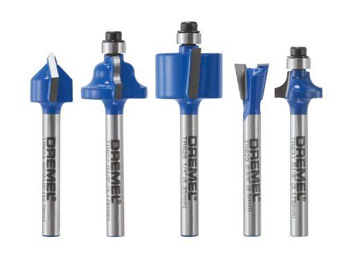 Dremel TR780 5-piece Specialty Router Bit Kit