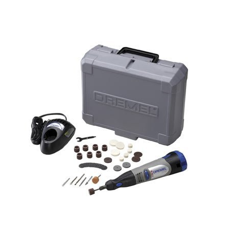 Dremel 8000-03 - 10.8V Lithium-Ion Cordless Rotary Tool Kit With