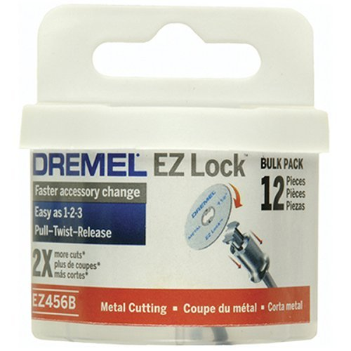 Dremel EZ456B 1 1/2-Inch EZ Lock Rotary Tool Cut-Off Wheels For