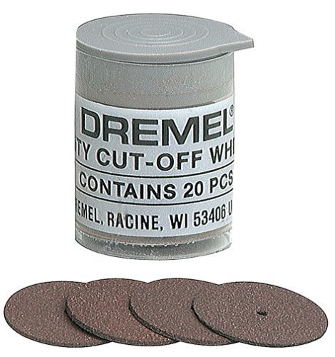 "5 Pack Dremel 420 15/16"" diameter 0.040"" thick Heavy Duty Emery"