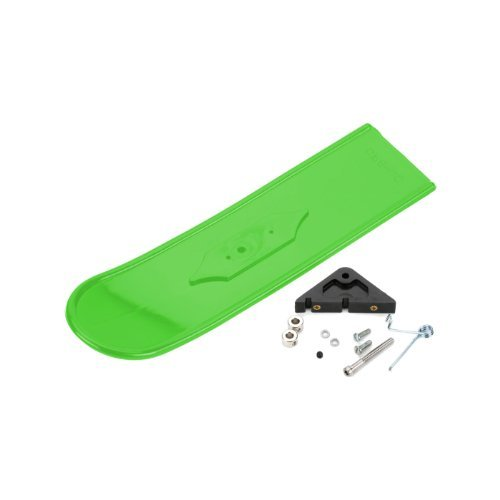 Snowbird Nose Skis, Lime Green: .20 to .60