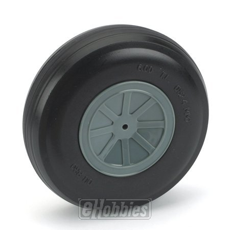 "DuBro 600TL 6"" Diameter Treaded Lightweight Wheel"