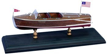 "9-1/2"" 1940 Chris Craft 19' Barrel Back Boat Laser Kit (1/24 Sca"