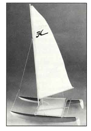 Hobie Cat Wooden Boat Kit by Dumas