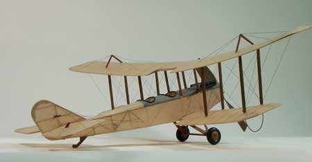 Standard J1 Wooden Model Airplane by Dumas