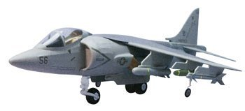 AV-8B Harrier Laser-Cut Wooden Model Airplane by Dumas