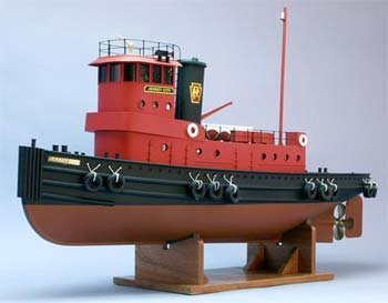 "The Jersey City Tug Boat Kit w/9"" Beam (1/32 Scale) 36"" Dumas"