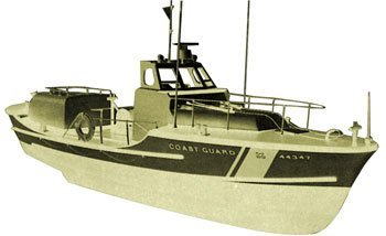 US Coast Guard Lifeboat Wooden Boat Kit by Dumas