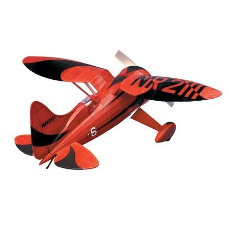 Halls Bulldog Racer Rubber Pwd Wooden Model Airplane by Dumas