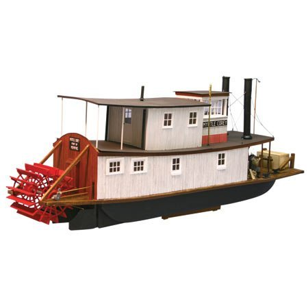 "38"" The Myrtle Corey Memphis River Towboat (1/20 Scale) Dumas"