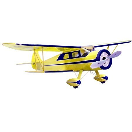 "35"" Wingspan Waco ARE Wooden Airplane Kit (Suitable for Electric"