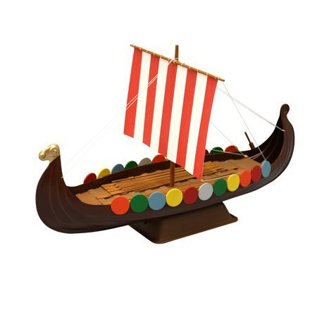 Viking Ship: Junior Modelers Boat