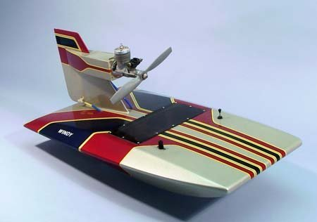Windy Airboat Wooden Boat Kit by Dumas