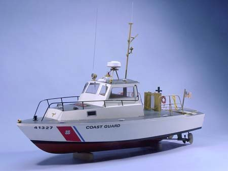 US Coast Guard Utility Boat Wooden Boat Kit by Dumas