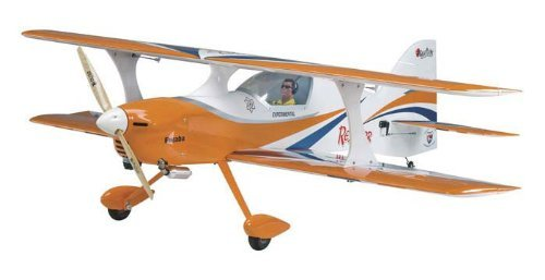 Great Planes Reactor Bipe 61 GP/EP ARF Sport/3D