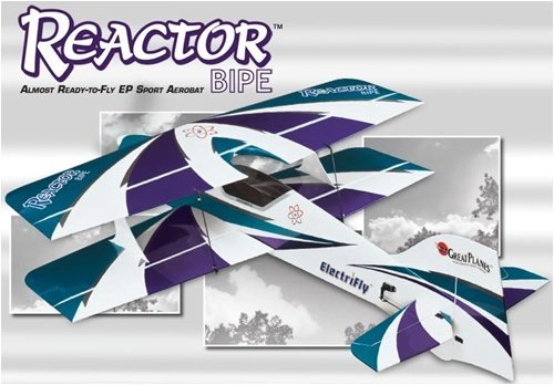 E-Performance Series 3D Reactor Bipe ARF