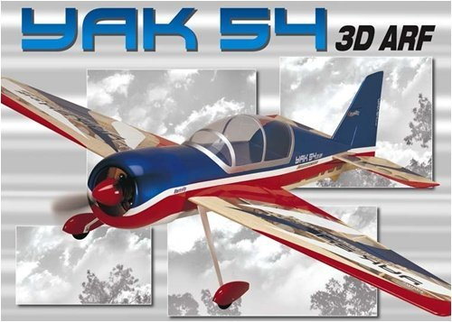"Great Planes YAK 54 EP ARF 41"" 3D E-Performance Series"