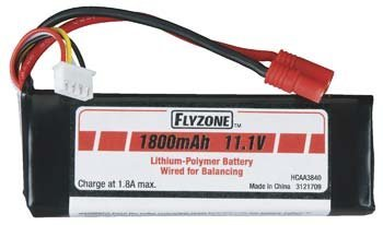 Flyzone LiPo 11.1V 1800mAh Battery