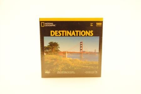 National Geographic Destinations Golden Gate Bridge 1000pc Jigsa