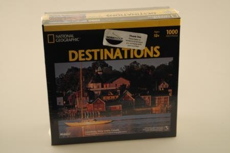 National Geographic Destinations Lunenburg Harbor 1000pc Jigsaw