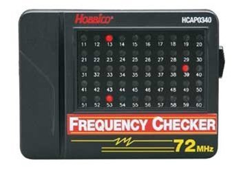 Hobbico 72MHz Frequency Checker