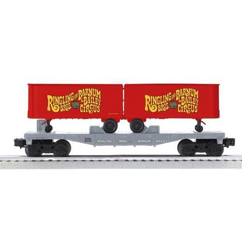 6-21691 KL RB Flat Car #80750 Car w/2 Trailers