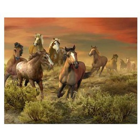 Visual Echo 3D Effect The Wild Bunch 3D Lenticular Puzzle 500pc