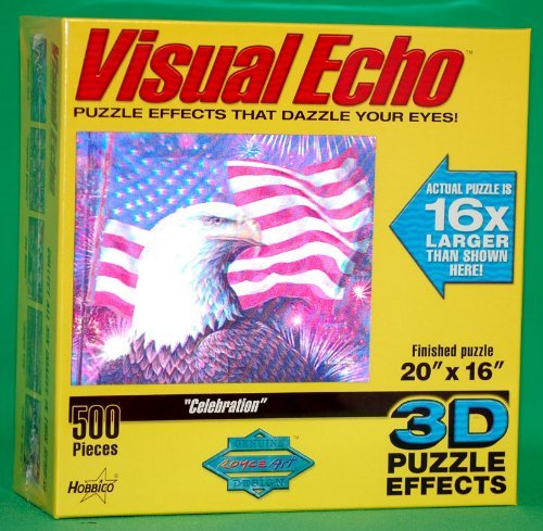 """Celebration"" Visual Echo 3D Puzzle"