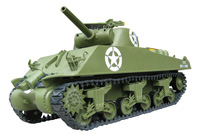 1/6 Scale M4A3 Sherman RC Tank - 105mm Howitzer(Electric Powered)