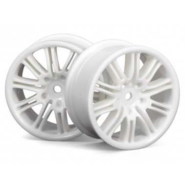 10-Spoke Sport Whl,26mm,White