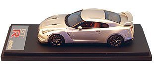 Nissan GT-R R35 Ultimate Metal Silver 1/43 Item Number 8404