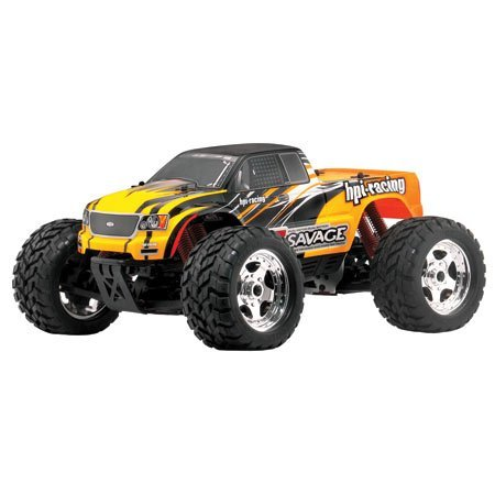 E-Savage with GT Truck Body RTR