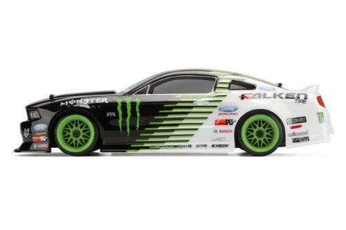 HPI E10 Drift RTR - Monster Energy Mustang Body