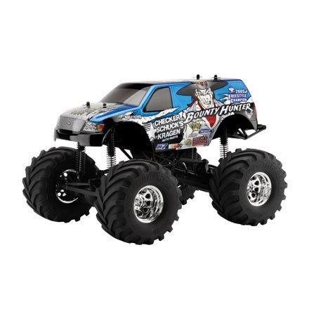 Wheely King RTR with Bounty Hunter Body