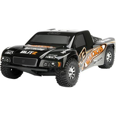 HPI Maxxis Attk - 10 Painted Body Black/Silver - Blitz