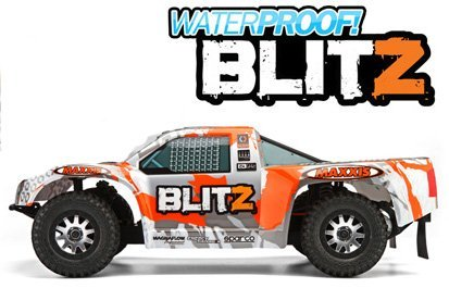 Blitz Waterproof Short Course Truck RTR w/2.4Radio