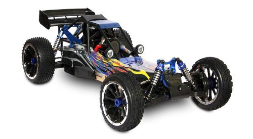 Redcat RC Rampage DuneRunner V3 4x4, 1/5 Scal Gas Buggy-BLACK
