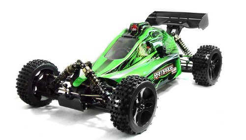 Rampage-xb-green Gas Powered