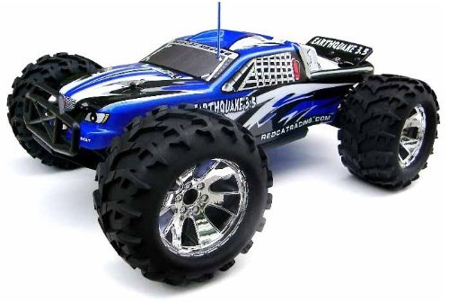 Redcat Racing Earthquake 3.0 Truck 1-8 Scale Nitro - BLUE