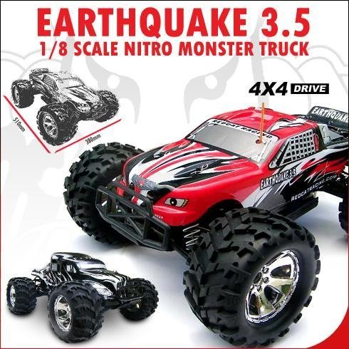 Redcat Racing Earthquake 3.5 Truck 1-8 Scale Nitro- RED