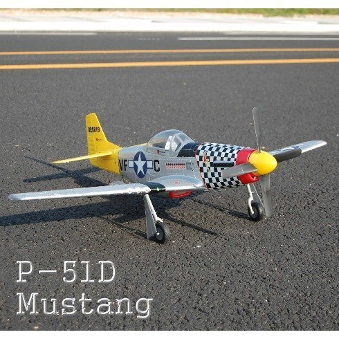 P-51 MUSTANG Airplane ~ Brushless Electric ~ RC - remote Control
