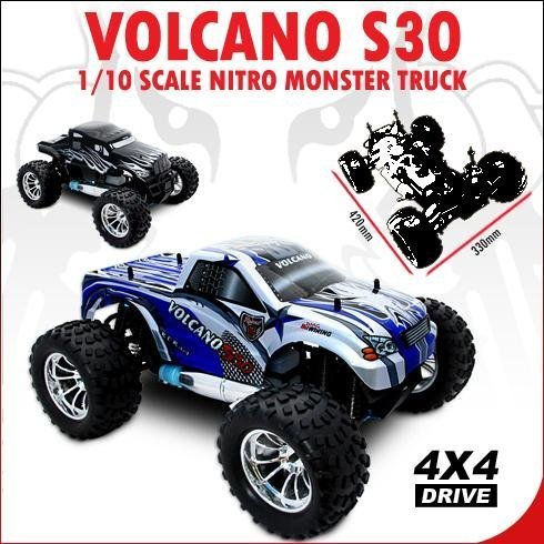 REDCAT RACING VOLCANO ~ NEW ~ RADIO CONTROL ~ S30 MONSTER TRUCK