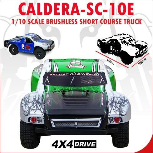 CALDERA-SC-10E ~ Short Course RC Truck ~ 1/10 Brushless Electric
