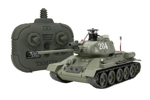 1/35 Tank Russian M/T T34/85 Kit w/2.4GHz Tx/Rx